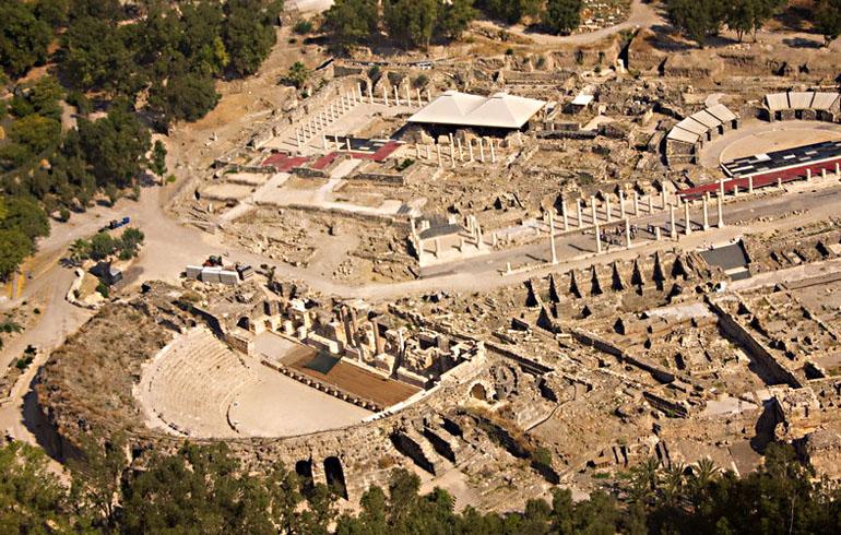 Beit Shean Israel  city images : Archéologie : Une synagogue samaritaine de 1500 ans découverte à ...