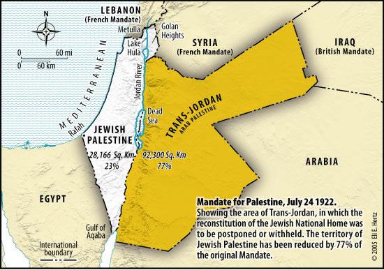 La soi disant «colonisation» Israélienne: une erreur sémantique doublée d'un mensonge historique