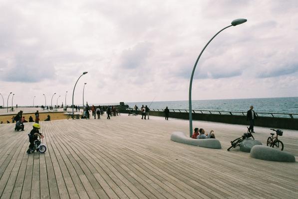 Parmi les 470 projets dans toute l'Europe, le port de Tel Aviv a gagne le 1er prix design d'Europe.