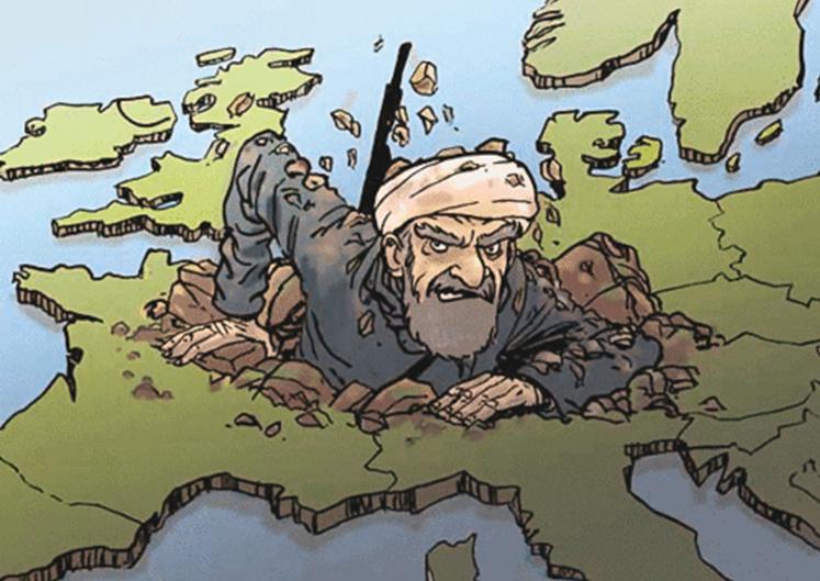 """Aux dirigeants qui livrent l'Occident à l'islam, """"nous vous demanderons des comptes"""""""