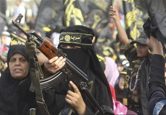 Big rally by Islamic Jihad in Gaza, joined by Hamas
