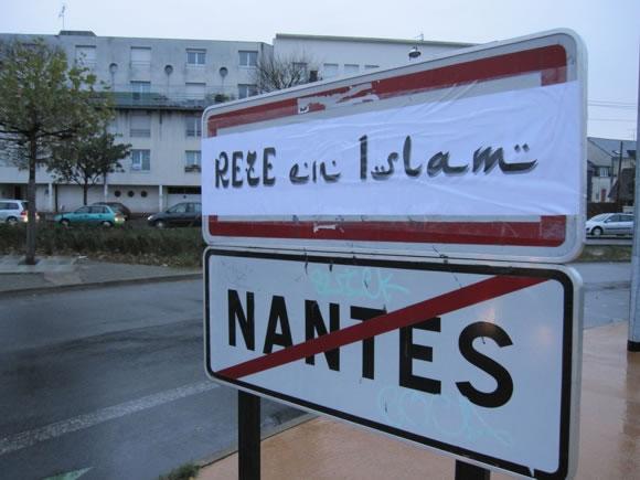 Les rues de Rezé, près de Nantes, rebaptisées de noms islamistes !