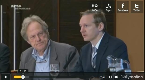 Wikileaks : fébrilité des états concernés – Vidéos : reportage ARTE