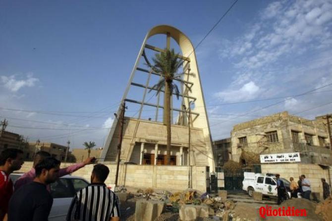 Attaque de la cathédrale syriaque catholique de Bagdad – Le bilan s'alourdit