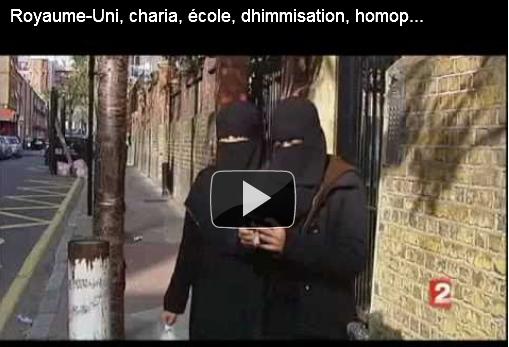 vidéo: Reportage France2 sur les manuels éducatifs enseignant la charia en GB