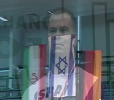 Cela se passe en Pologne, entre un iranien, un allemand et un israélien