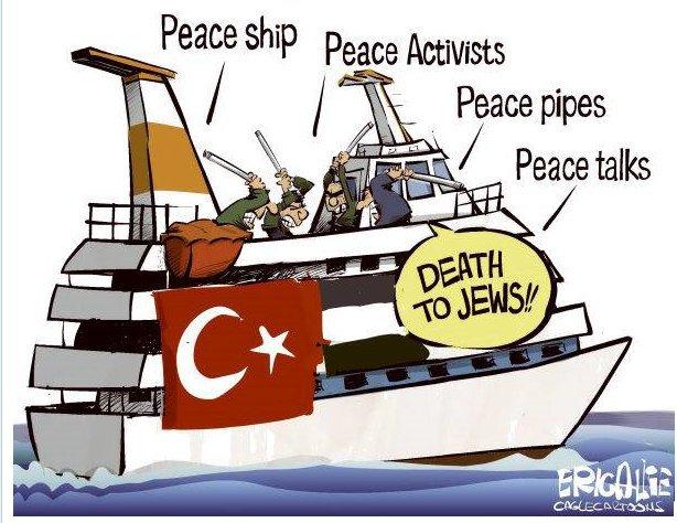Mavi Marmara : «le retour» cette fois il faudra le couler !