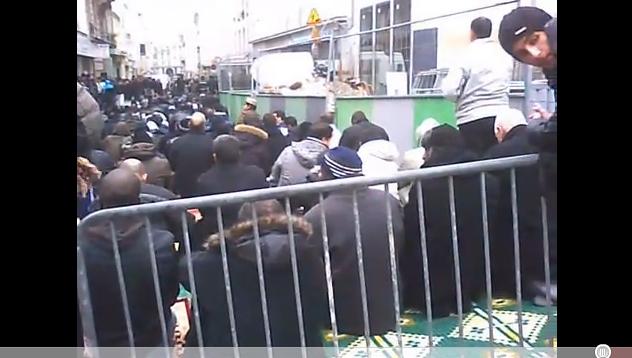 Vidéo: l'occupation de la Rue Myrha continue