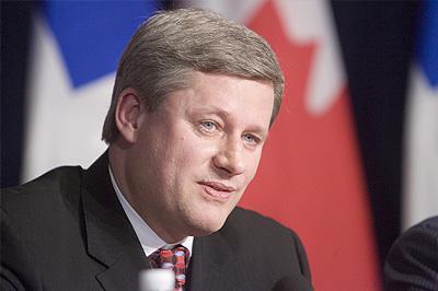 Stephan Harper Premier Ministre Canadien répond à notre lettre