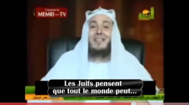 Vidéos: discours d'un imam antisémite égyptien suivi de Hair les juifs est un devoir religieux