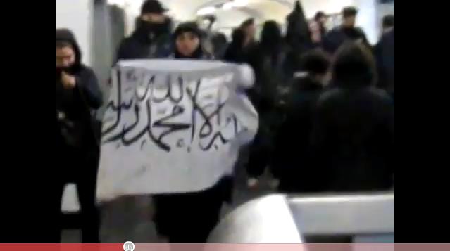 Vidéo: «Le drapeau de l'Islam sera bientôt à l'élysée!»