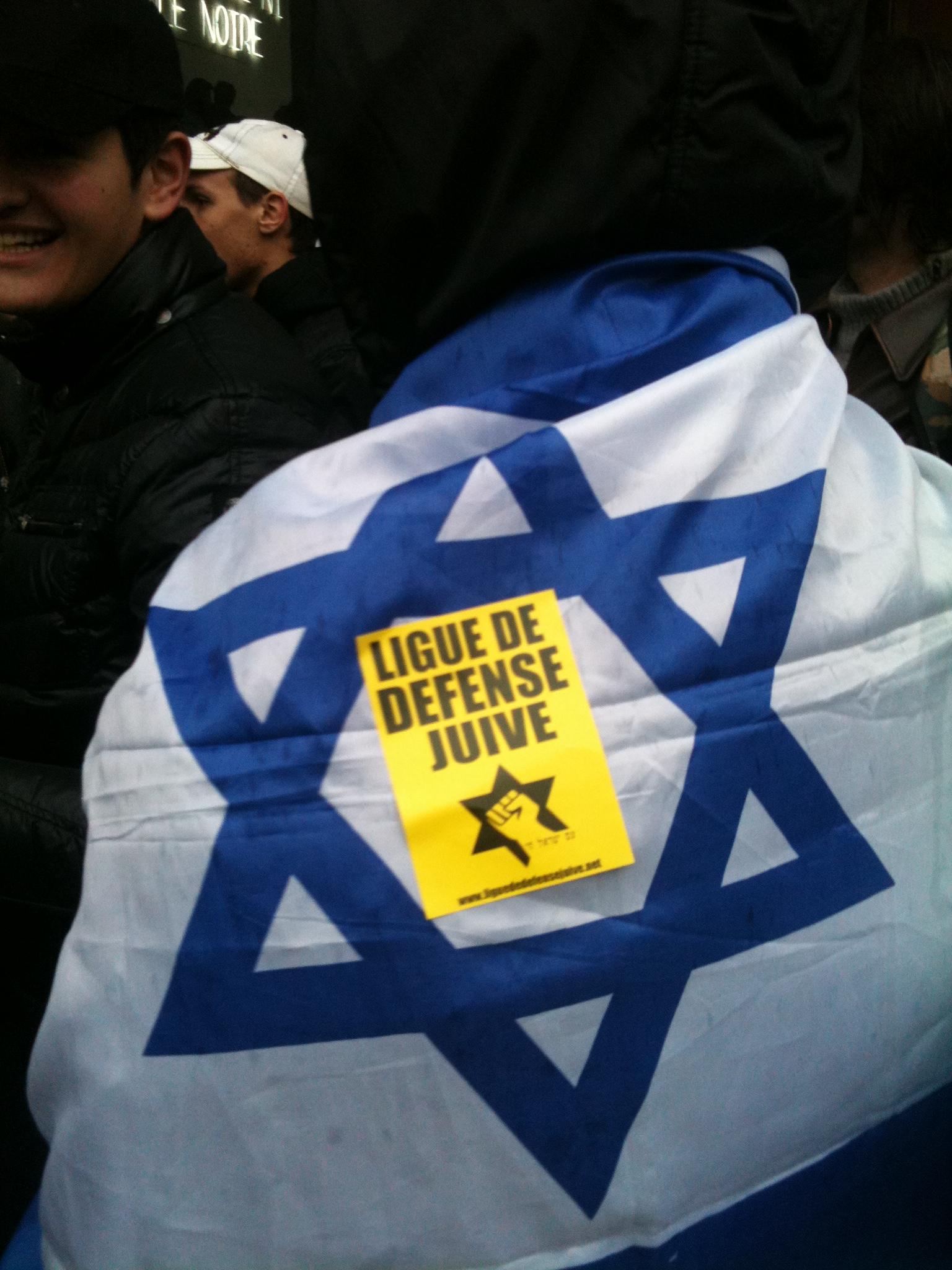 La Ligue de Défense Juive occupe les locaux de France INTER pour protester contre les propos antisémites