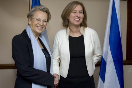 Michèle Alliot-Marie, le Quai d'Orsay, une vision française du conflit israélo-palestinien