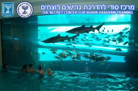 Scoop : le centre d'entraînement des services secrets israéliens dédié à l'entraînement des requins assassins