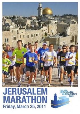 Participer au 1er marathon de Jérusalem le 25 mars 2011 ?