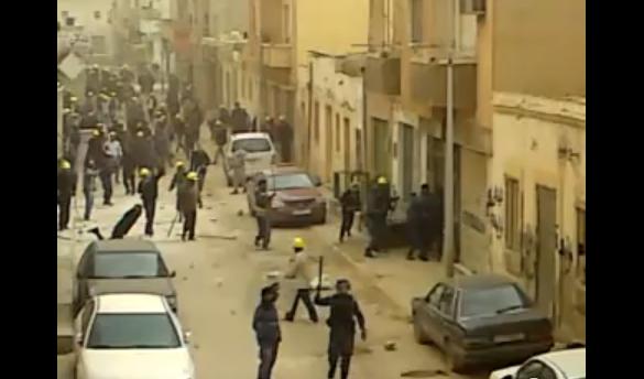 Vidéos sur la répression, Kadhafi ordonne la destruction des oléoducs libyens