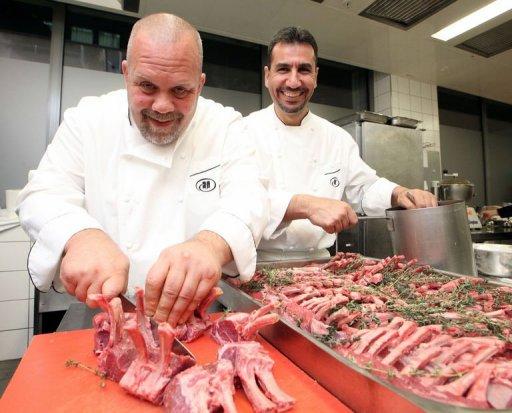 «Cuisiner pour la paix»: rencontre de chefs israélien et palestinien