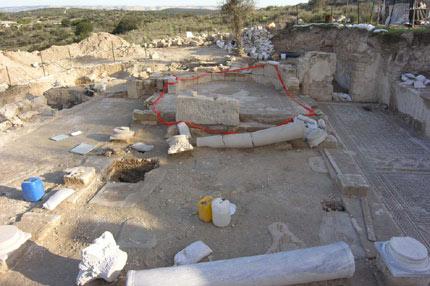 Une église datant d'il y à 1500 ans découverte en Israël