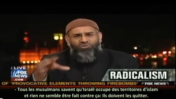 Vidéo: un islamiste «Israël est un sol musulman occupé qui sera repris»
