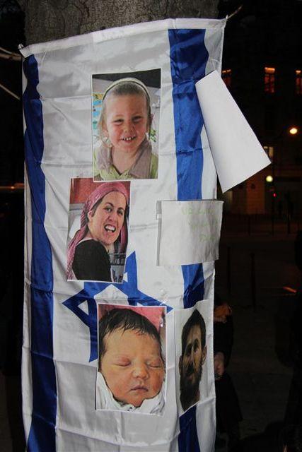 Vidéos: rassemblement du 13 mars pour la famille Fogel assassinée par des terroristes