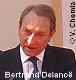 Bertrand Delanoë, Maire de Paris, souhaite que la France et l'UE «reconnaissent dès maintenant l'Etat palestinien»