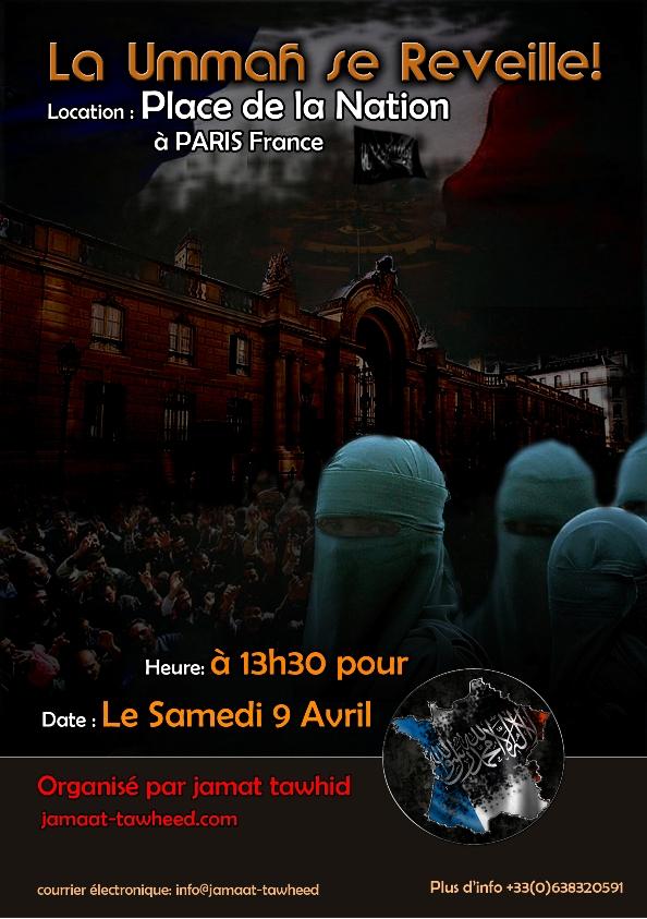 France : manifestation le 9 avril pour le renversement de la démocratie