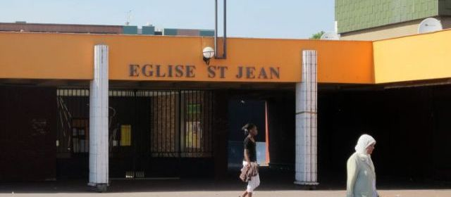 Une église vandalisée en Seine Saint Denis