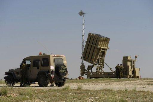 Vidéo: le Dôme de fer intercepte des missiles Grad à Aschkelon