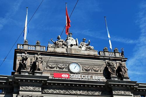 Scoop: En Suisse le Tribunal Administratif Fédéral enjoint la CFF d'autoriser des affiches pro-palestiniennes