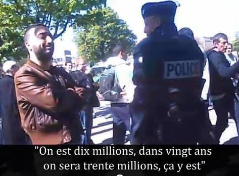Les islamofascistes expulsés de la Nation (samedi 9 avril 2011)
