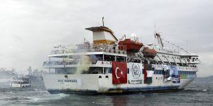 Des responsables du Fatah à bord de la flottille
