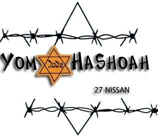 1er mai 2011 – 27 Nissan,  Yom Hashoah : une journée à la mémoire des victimes de la Shoah