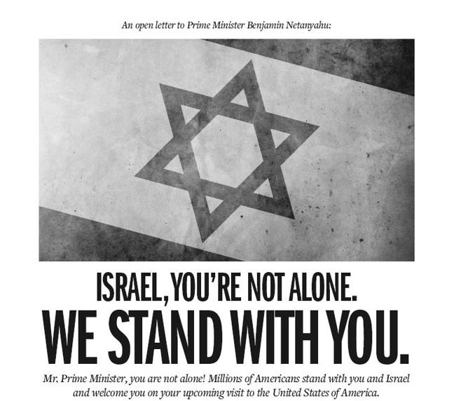 Des millions d'Américains se mobilisent pour soutenir Israël et son Premier Ministre