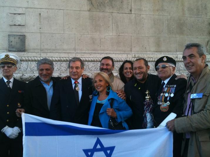 Hommage de la France aux Combattants Juifs pendant les deux guerres mondiales