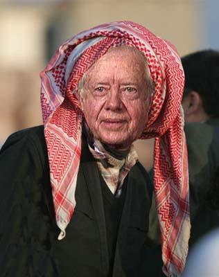 Jimmy Carter qui n'a jamais rien compris au moyent orient soutient l'accord Fatah/Hamas