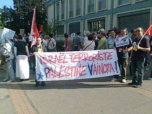 Vidéo: manif du 1er mai, les islamo-gauchistes pro-palestiniens s'en prennent aux restaurants cachers !