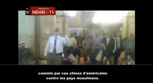 Vidéo: Mosquée Al-Aqsa, Obama sera pendu et l'occident paiera