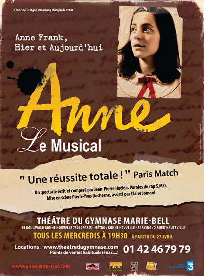Anne le Musical, écrire contre l'oubli