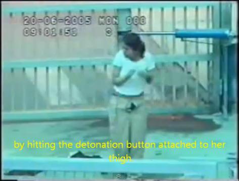 Vidéo: une terroriste explose lors d'un contrôle à checkpoint israélien