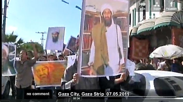Vidéo : Gaza, les salafistes rendent hommage à Ben Laden