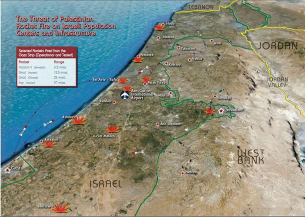 Vidéo: les frontières de 1967 un danger pour la survie d'Israël – cartes et vidéos