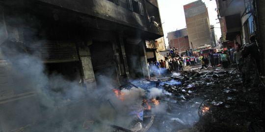 Violents affrontements entre coptes et musulmans en Egypte