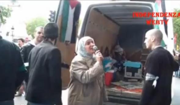 Vidéo: Les islamo-gauchistes défilent pour défendre le mensonge de la Nakba
