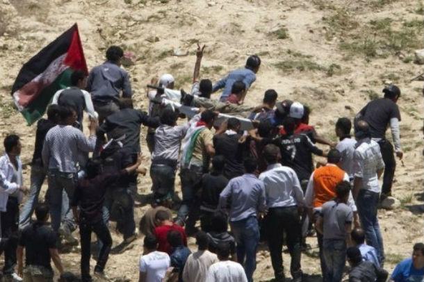 Des enfants syriens utilisés pour se ruer contre la frontière israélienne. Selon Damas : 13 morts, 150 blessés