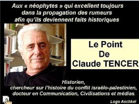 La Première Intifada – 1929 (2/2) – Rumeurs et instrumentalisation religieuse du conflit israélo-palestinien,  par le Dr Claude TENCER