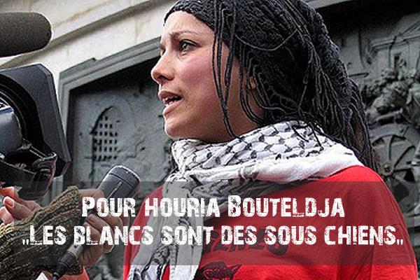 Pour Houria Bouteldja le terrorisme est, certes, une arme terrible, mais nécessaire. L'ennemi c'est le peuple blanc, propriétaire de la France