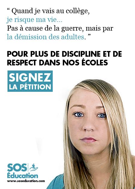 France: «Quand je vais au collège… je risque ma vie !»