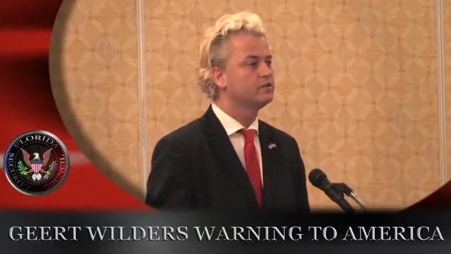 Vidéo: trailer du nouveau film de Geert Wilders «Islam Rising»