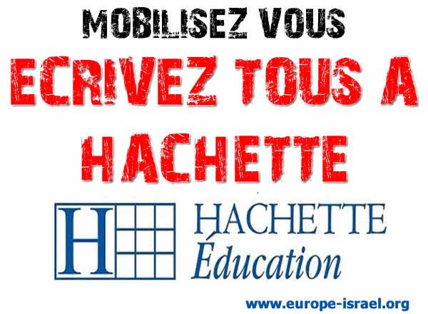 Action contre Hachette: Mobilisez vous, Ecrivez tous à Hachette !