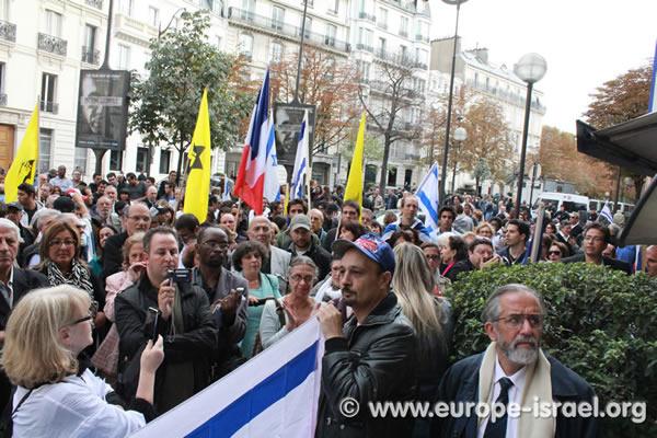 Colis piégé et menaces terroristes pour empêcher le rassemblement de soutien à Israël à Paris !